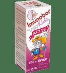 ИМУНОБОР КИДС АКТИВ СИРОП - подсилва детската имунна система -100 мл., BOROLA