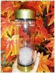Бутилка за Зареждане на Вода с Кристали - по избор