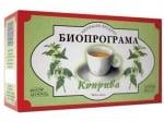 ЧАЙ КОПРИВА - 20 броя филтърни пакетчета, БИОПРОГРАМА