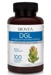DGL ДЪВЧАЩИ ТАБЛЕТКИ - подобрява функциите на отделителната и храносмилателната система - х 100, BIOVEA