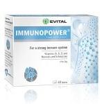 ИМУНОПАУЪР - подсилва имунната система, с натурален екстракт от зърнастец и ехинацея - табллетки х 40, EVITAL