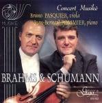 БРАМС И ШУМАН: ПАСКЕ - ВИОЛА, ПОМИЕ - ПИАНО - компакт диск, GEGA NEW