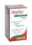 ВЕГИЛАКС -  при нередовен стомах и нарушена храносмилателна система - таблетки х 30, HEALTH AID