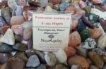 Комплект от естествени камъни за 8-ми МАРТ, с пожелание
