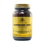 КОРЕН ОТ ГЛУХАРЧЕ - тонизира черния дроб, жлъчния мехур и мастния метаболизъм - капсули х 100, SOLGAR