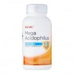 МЕГА АЦИДОФИЛУС - възстановява чревната микрофлора - капсули х 90, GNC