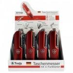 Мултифункционално джобно ножче тип швейцарско различни цветове
