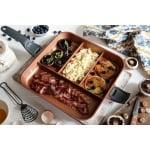 QUADRAPAN - Професионален тиган 4 в 1 - за приготвяне на 4 вида храна едновременно, ТЕЛЕСТАР