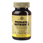 ПРЕНАТАЛ витамини и минерали за бременни и кърмещи жени * 120таблетки, СОЛГАР
