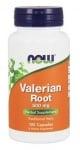 ВАЛЕРИАНА - Действа успокояващо на нервната система - капсули 500 мг. х 100, NOW FOODS