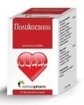ПОЛИКОСАНОЛ - понижава нивата на холестерол в кръвта - желатинови капсули х 50, RAMCOPHARM