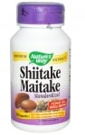 ШИЙТАКЕ И МАЙТАКЕ - регулира нивата на кръвното налягане и холестерола - капсули 400 мг. х 60, NATURE'S WAY