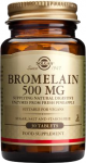 БРОМЕЛАЙН - разгражда протеините - таблетки 500 мг. х 30, SOLGAR