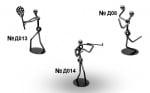 СУВЕНИР СПОРТИСТ - три различни фигурки на спортисти, COSMOPOLIS