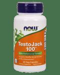 ТЕСТО ДЖАК 100 повишава потентността, мъжкото либидо и тестостерона* 60капс., НАУ ФУДС