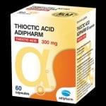 ТИОКТИК АЦИД - подобрява обмяната на веществата и енергизира организма - капсули 300 мг. х 60, ADIPHARM