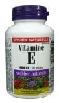 ВИТАМИН Е - предпазва клетките от токсини и свободни радикали - капсули 400 iu х 90, WABBER NATURALS